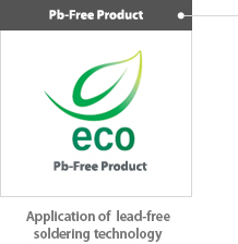 Pb-Free Product, Application of lead-free soldering technology